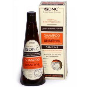 DNC Шампунь для сухих и поврежденных волос, 350 мл 7