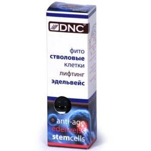 """DNC Стволовые клетки для лица """"эдельвейс"""", 10 мл 72"""