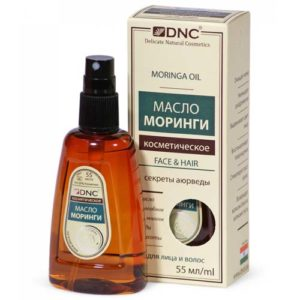 DNC Масло косметическое для лица и волос с моринги Moringa Oil, 55 мл 3