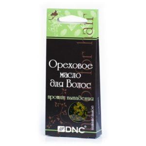 DNC Масло ореховое питательное для волос (против выпадения), 3*15 г 5