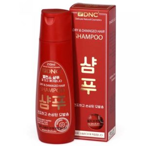 DNC Шампунь для сухих и повреждённых волос (без отдушек), 250 мл 6