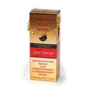 DNC Gemene Масло для поврежденных и окрашенных волос (стимулятор роста), 55 мл 3