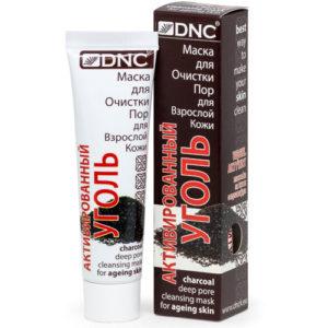 DNC Активированный уголь-маска для очистки пор для взрослой кожи, 50 мл 4