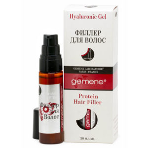 DNC Gemene Филлер для волос (гель гиалуроновый с комплексом протеинов) Protein Hair Filler, 30 мл 4