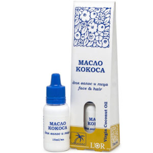 DNC L'or Масло кокоса для волос и лица Virgin Coconut Oil, 15 мл 12