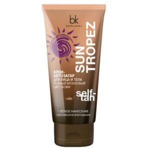 Belkosmex Sun Tropez Крем-автозагар для лица и тела Self-Tan ровный бронзовый цвет кожи, 150 г 2