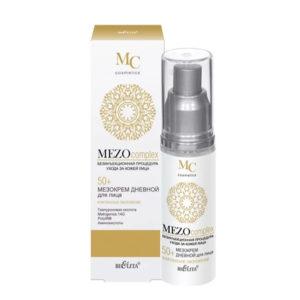 Bielita Mezocomplex 50+ Мезокрем для лица дневной Комплексное омоложение с гиалуроновой кислотой и аминокислотами, 50 мл 66