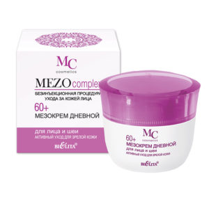 Bielita Mezo complex 60+ Мезокрем для лица и шеи Дневной, 50 мл 4