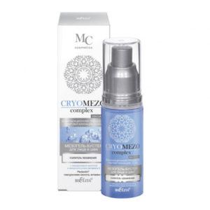 Bielita Cryomezo complex Мезогель-бустер для лица и шеи усилитель увлажнения с гиалур. кислотой и микрокапсулами витамина Е, 50 мл 21