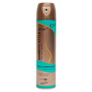 Витэкс Bamboo Style Лак для волос Объем и Укрепление с экстрактом бамбука, суперсильная фиксация (4) Styling + Superstrong Hold Strengthening Hair Spray, 300 мл 43