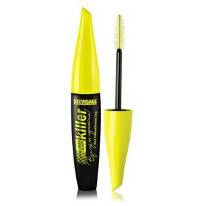 Luxvisage Тушь для ресниц Killer Deep Black, жёлто-чёрный корпус, 11 г 55