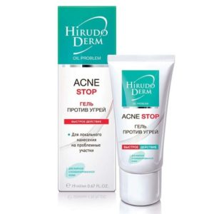 Биокон Hirudo Derm Oil-problem acne stop Гель против угрей быстрое действие, 19 мл 6