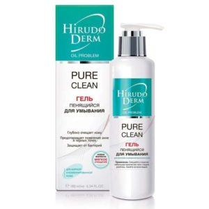 Биокон Hirudo Derm Pure Clean Гель пенящийся для умывания, 180 мл 26