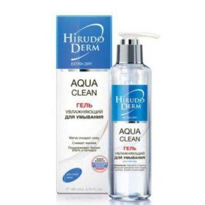 Биокон Hirudo Derm Aqua Clean Увлажняющий гель для умывания, 180 мл 11