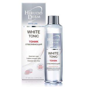 Биокон Hirudo Derm White Tonic Отбеливающий тоник, 180 мл 1
