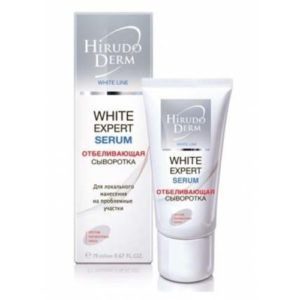 Биокон Hirudo Derm White Expert Serum Отбеливающая сыворотка, 19 мл 13