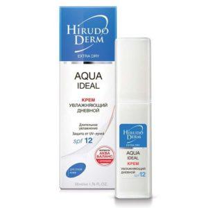 Биокон Hirudo Derm Aqua Ideal Увлажняющий дневной крем для сухой кожи SPF 12, 50 мл 11
