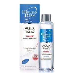 Биокон Hirudo Derm Aqua Tonic Увлажняющий тоник для сухой и нормальной кожи, 180 мл 15