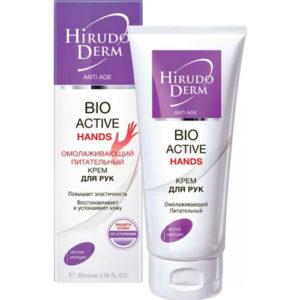Биокон Hirudo Derm Bio Active Hands Омолаживающий крем для рук, 60 мл 3