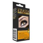 Krassa Крем-краска для бровей и ресниц Perfect Color (краска, окислитель, аппликатор) тон 100 графит 1