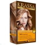 Krassa Гель-краска для волос стойкая Perfect Color (краска, окислитель, шампунь, бальзам, перчатки) тон 850 корица, 50/50/10/10 мл 2