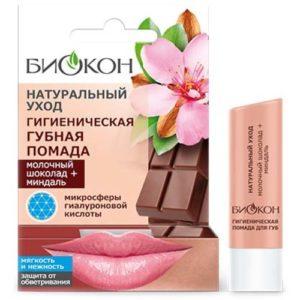 Биокон Гигиеническая губная помада шоколад+миндаль, 4,6 г 94