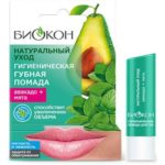 Биокон Гигиеническая губная помада мята+авокадо, 4,6 г 1