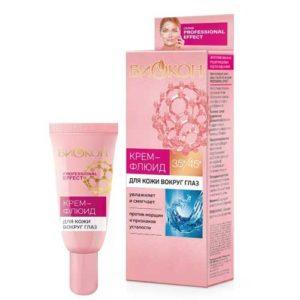 Биокон 35+/45+ Крем-флюид для кожи вокруг глаз против морщин (гиалуроновая кислота, пептидный комплекс, витамин С), 25 мл 2