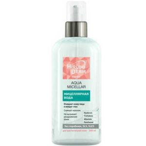 Биокон Hirudo Derm Sensetive Мицеллярная вода Aqua Micellar для чувствительной кожи, 500 мл 7