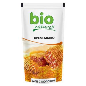 Bio Naturell Крем-мыло жидкое нежное мёд и молоко, 500 мл 2