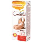 Lady Caramel Крем для депиляции 12 В 1 Универсальный для всего тела с маслом арганы, 200 мл + лопатка 1