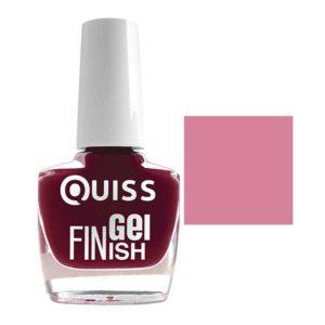 Quiss Лак маникюрный Gel Finish Lacquer, тон 33 4