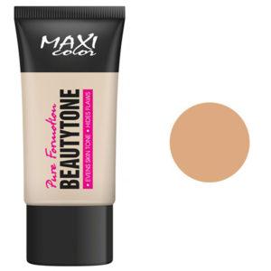 Maxi Color Тональный крем Pure Formotion Beauty Tone, тон 03 натуральный, 30 мл 26