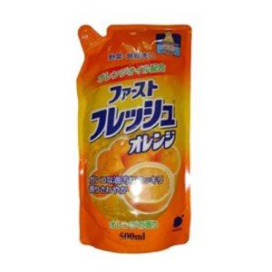 Funs Жидкость для мытья посуды, овощей и фруктов с ароматом свежего апельсина, 500 мл 14