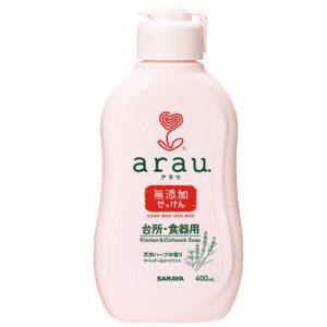 Arau Жидкость для мытья посуды, 400 мл 3