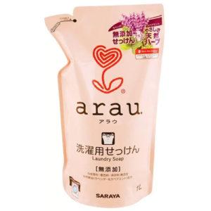 Saraya Arau Жидкость для стирки на основе натуральных растительных компнентов Laundry Soap, 1 л 16