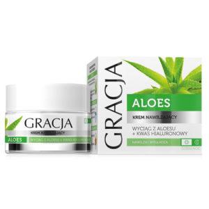 Miraculum Крем увлажняющий для лица Gracja с экстрактом листьев алоэ и гиалуроновой кислотой, 50 мл 1