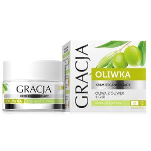 Miraculum Крем регенерирующий для лица Gracja с маслом оливы и коэнзимом, 50 мл 2