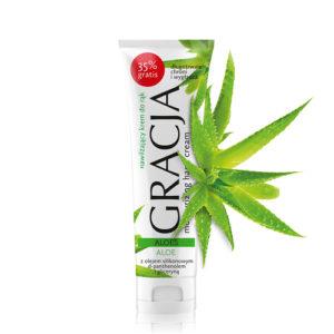 Miraculum Крем для рук увлажняющий Gracjaс экстрактом алоэ и глицерином, 100 мл 34