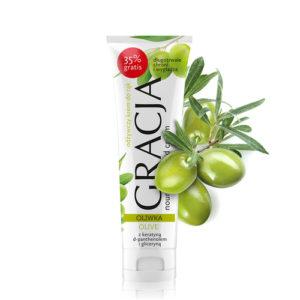 Miraculum Крем для рук питательный Gracja с оливковым маслом, кератином, пантенолом, 100 мл 5