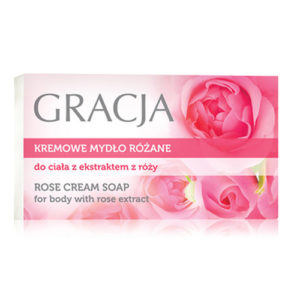 Miraculum Крем-мыло для тела Gracja с экстрактом розы, 100 г 1