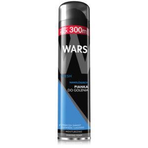 Miraculum Пена для бритья увлажняющая для мужчин Wars Fresh (Варс Фреш), 300 мл 2