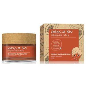 Miraculum Gracja Bio Маска разглаживающая с каолиновой глиной + экстракт папайи 98% Smoothing Mask, 50 мл 17