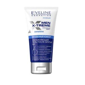 Men x-treme гель после бритья увлажняющий 6в1 мгновенный комфорт охлаждающий эффект, с гиалуроновой кислотой, морскими минералами 4