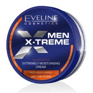 Eveline Men X-treme Крем для лица, рук и тела экстремальное увлажнение UVA+UVB, 200 мл 4