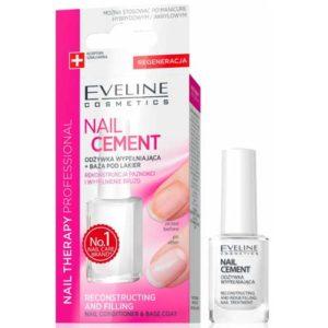Eveline Nail Therapy Professional Сыворотка укрепляющая + база под лак, 12 мл 22