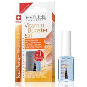 Eveline Nail Therapy Professional Препарат для восстановления ногтей + базовое покрытие под лак 6 в 1, 12 мл 6