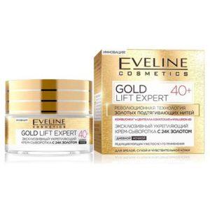 Eveline Gold Lift Expert 40+ Крем-сыворотка эксклюзивный укрепляющий с 24K золотом, 50 мл 42