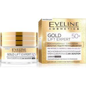 Eveline Крем-сыворотка с 24K золотом, 50 мл 7