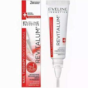 Eveline Nail Therapy Professional Сыворотка интенсивно укрепляющая регенерирующая для ногтей, 8 мл 43